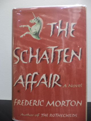 The Schatten Affair. Frederic Morton