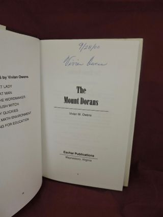 The Mount Dorans; African American History Notes Of A Florida Town.